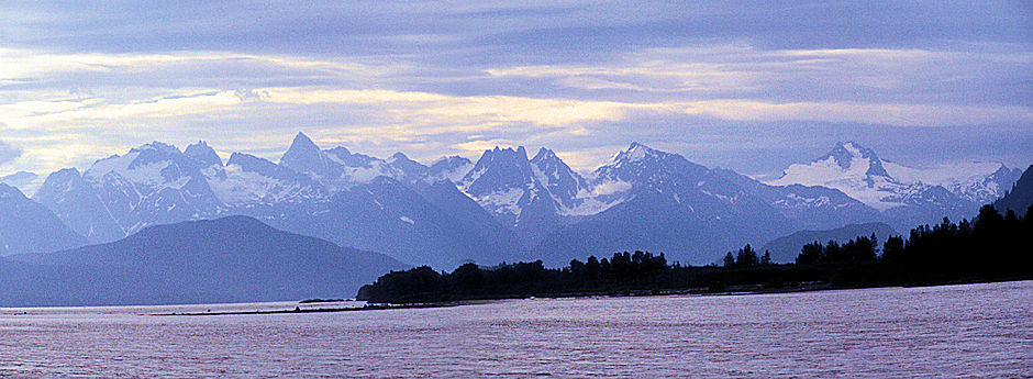 Chilkat River north of Haines, Alaska