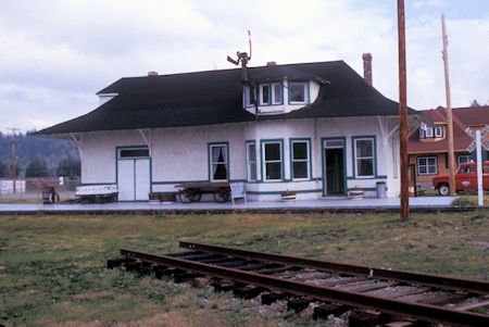 Penny Station 1913, Prince George Railroad Museum, British Columbia