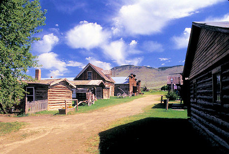 Nevada City, Montana - ghost town