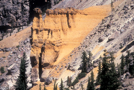 Pumice Castle, Crater Lake, Crater Lake National Park, Oregon 1998